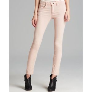 NEW Rag & Bone High Rise Skinny Jeans in Blush